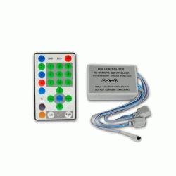 Купить RGB контроллер для бегущей волны IR инфракрасный (27А, 25 кнопок на пульте)
