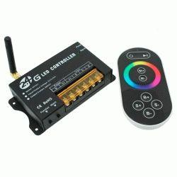 Купить RGB-контроллер радио сенсорный Black (touch controller, 2.G,RF 24А)