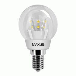 Купить Светодиодная лампа Maxus 3W E14 (арт. 1-LED-259)