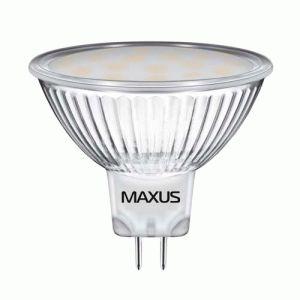 Светодиодная лампа Maxus 3W MR16 220V GU5.3 GL (арт. 1-LED-510)