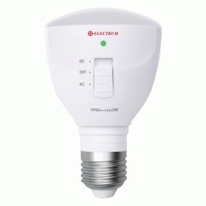 Светодиодная лампа Electrum 4W E27 с аккум. батареей (арт. A-LP-1664)