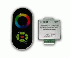 Купить RGB-контроллер сенсорный Black (touch controller, 18А) радио