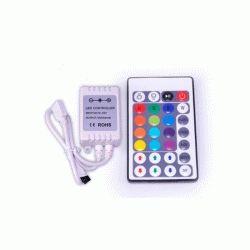 RGB-контроллер IR инфракрасный(6А, 28 кнопки на пульте)