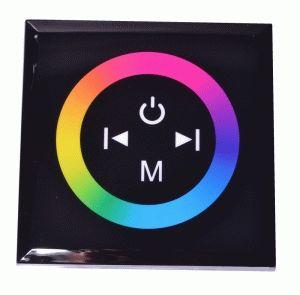 RGB контроллер Touch Panel стационарный (Black) 144W