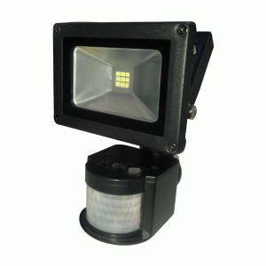 Прожектор светодиодный LITEJET-10W 6500 smd с датч. (B-LF-0143)