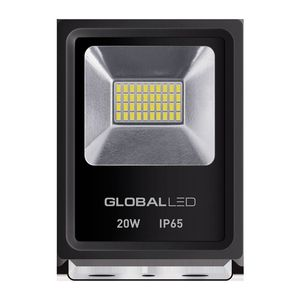 LED ПРОЖЕКТОР GLOBAL FLOOD LIGHT 20W 5000K ХОЛОДНЫЙ СВЕТ(1-LFL-002)