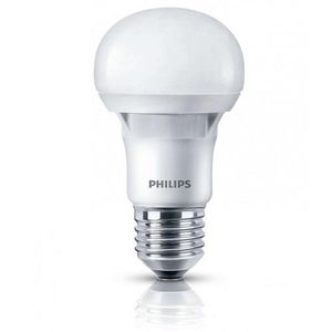Лампа светодиодная Philips LEDBulb E27 5-40W 230V 3000K A60 Essential