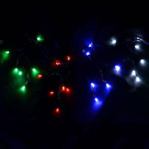 """Гирлянда светодиодная VENOM """"Дождик"""" 320LED черный провод RGB (Арт...."""