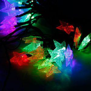 """Гирлянда светодиодная VENOM """"Звезда"""" 30LED RGB, белый провод..."""