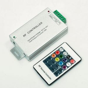 RGB-контроллер ALUMINUM RF радио 12А (20 кнопок на пульте)