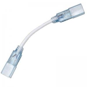 Коннектор для лент 220В 5050-3chip  2835-180  5730-120 (2розъема-провод + 2pin)