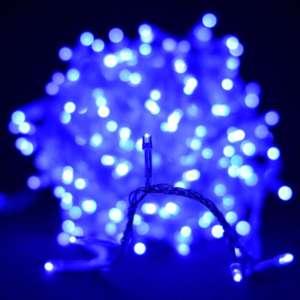 Гирлянда светодиодная Venom 500LED, белый провод (LS-LED-500LED-WC) Синий