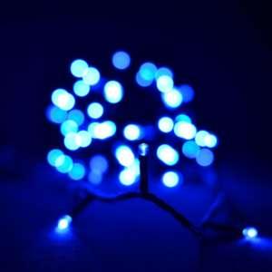 Гирлянда светодиодная Venom 100LED, черный провод (LS-LED-100LED-BC) Синий