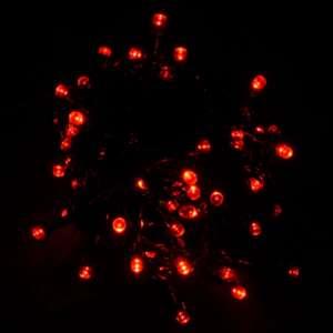 Гирлянда светодиодная Venom 100LED, черный провод (LS-LED-100LED-BC) Красный