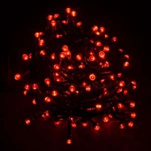 Гирлянда светодиодная Venom 200LED, черный провод (LS-LED-200LED-BC) Красный