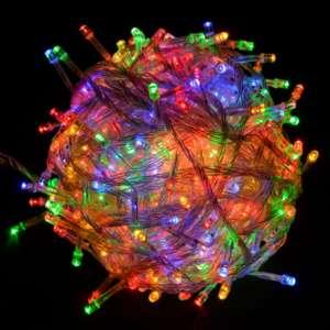 Гирлянда светодиодная Venom 500LED, белый провод (LS-LED-500LED-WC) RGB
