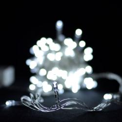 Гирлянда светодиодная VENOM 100LED, белый провод (LS-LED-100LED-WC-W)