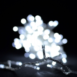 Гирлянда светодиодная VENOM 200LED, белый провод (LS-LED-200LED-WC-W) Белый