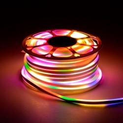 Светодиодный неон Venom SMD 2835 120 д.м 220V IP67 Rainbow