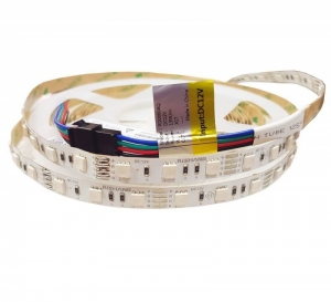 Светодиодная лента Rishang SMD 5050 60д.м. IP20 Premium RGB