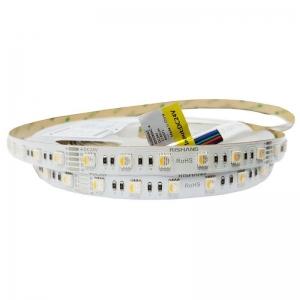 Светодиодная лента Rishang SMD 5050 60д.м. IP20 Premium RGBтепло-белый