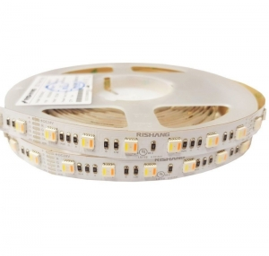Светодиодная лента Rishang SMD 5050 60д.м. IP20 Premium RGB+Dual White