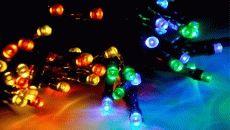 Обновление товарного ассортимента по праздничному освещению